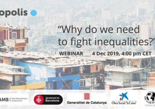 Webinar with Paula Casal: Why do we need to fight inequalities?